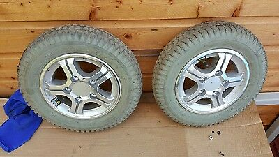 pride quantum 600 electric wheelchair spare parts  drive wheels and tyres