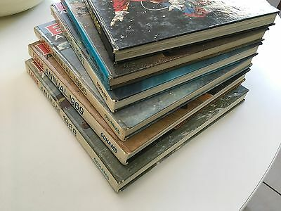 COLLECTION of 6 x EAGLE ANNUALS from 1964-1969
