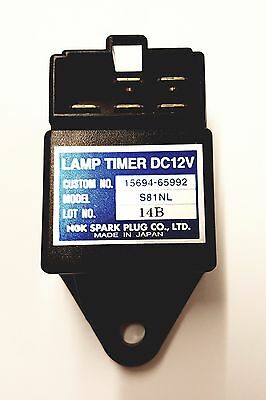 Terex Benford Glow Plug Lamp Timer for HD Skip Loader Dumpers Kubota 15694-65992