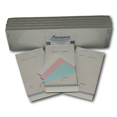 100 XL NCR Copy Triplicate Restaurant Cafe Pub Takeaway Food Numbered Order Pads