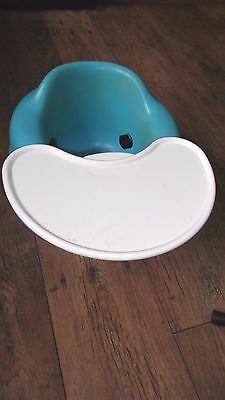Bumbo Baby Seat With Detachable Tray In Blue