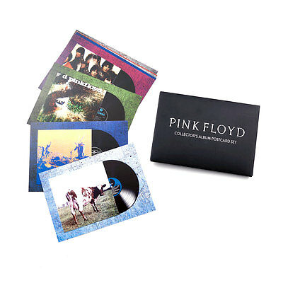 Pink Floyd collector's album postcard set special limited V&A exhibition rarest!