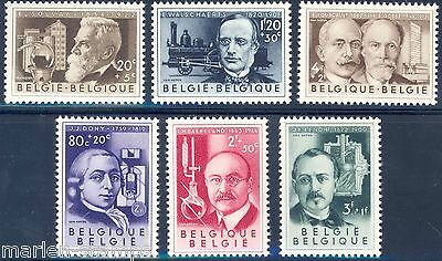 Belgium  Scientists  Set Sc#b573/78  Mint Never Hinged