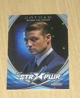 2017 Cryptozoic Gotham season 2 character bio STR PWR SILVER James Gordon CB02