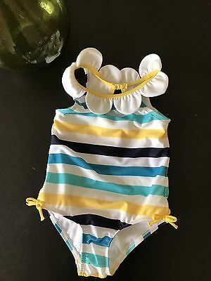 Gymboree Girl Size 3T Swimwear Striped One Pc
