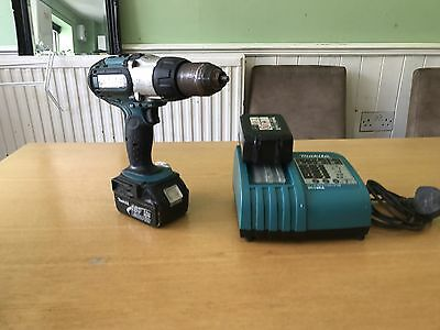 makita Lxt hammer drill 18v With Spare Battery And Charger