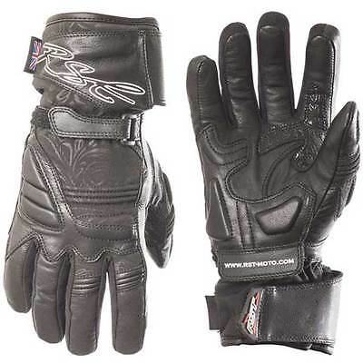 RST Madison II 2 Ladies Sports Leather Motorcycle Waterprooof Gloves All Sizes