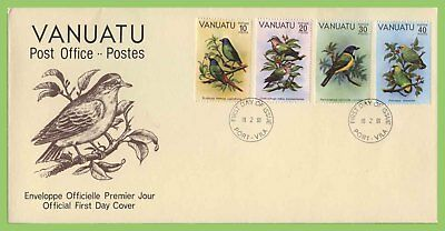 Vanuatu 1981 Birds set on First Day Cover
