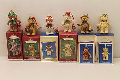 Hallmark ~ Gift Bearers Ornament Lot of 6  #1, #2, #3, #4, #6, and #7 in series!