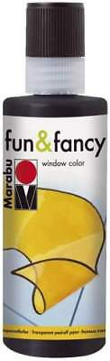 "Marabu Window Color ""fun & fancy"", 80 ml, Konturen-schwarz"