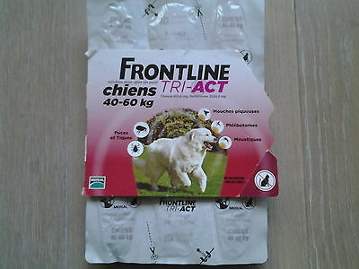 anti puce Frontline Tri-Act XL Grand Chien (40-60 kg) - 6 pipettes