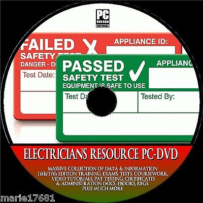 Electricians Resource 17Th Edition C&g Training Pat Certificates Study Pcdvd-Rom