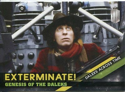 Doctor Who Timeless Daleks Across Time Exterminate Chase Card #3