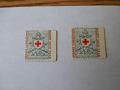 American Red Cross 1917 Stamp Merry Christmas, Happy New  Year