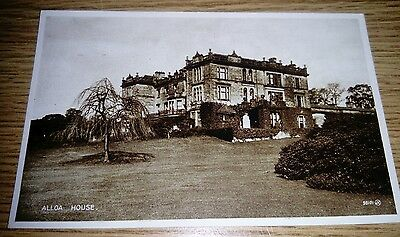 Alloa House Postcard 1926 Valentines