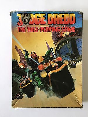 Judge Dredd - Games Workshop - The Role-Playing Game - Complete