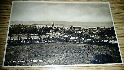 Alloa From the North Postcard c1910 JM Caledonia Series