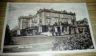 Alloa House Postcard Valentines 1888 registered photo
