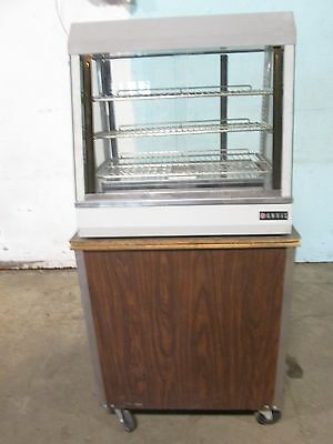 """""""anvil Fma7026"""" H.d. Commercial Heated Lighted Humidified Hot Food Display Case"""
