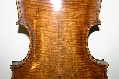 old antique 4/4 ITALIAN? violin TESTORE label BETTS PLAYING cond ORIGINAL NECK