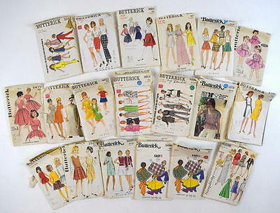 Vtg Lot of 180 50s 60s 70s Retro Sewing Patterns Mostly Uncut Butterick McCalls
