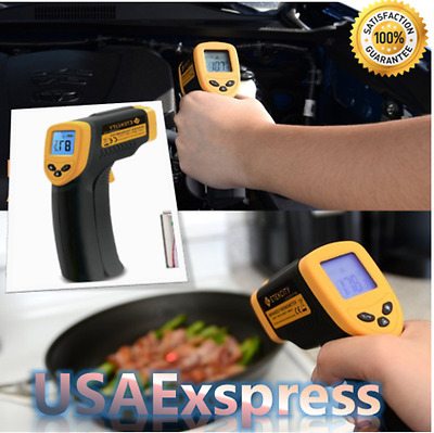 NEW Non-Contact Ir Laser Temperature Gun Digital LCD Screen Infrared Thermometer
