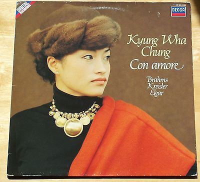"Kyung Wha Chung ""Con Amore"" First press DECCA DIGITAL 417 289-1(Holland) EX-"