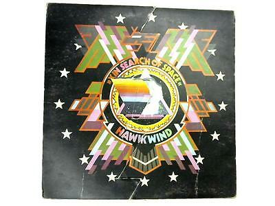 X In Search Of Space LP 1st  Vinyl (Hawkwind - 1971) UAG 29202 (ID:14955)