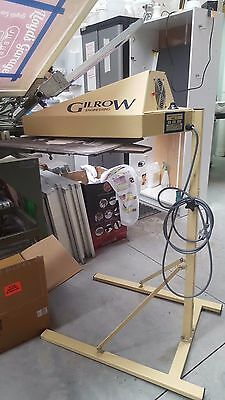 Screen Printing FLASH CURE UNIT - GILROW ENGINEERING