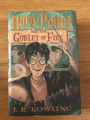 Harry Potter And The Goblet Of Fire  Hardcover Book # 4  First American Edition