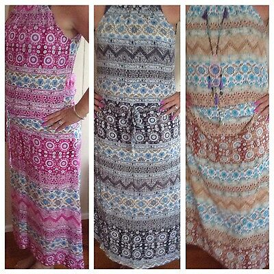 Wholesale Lot 5 X Ladies Dresses Rayon Mixed Colours Free size Mixed Colours