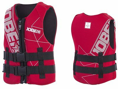 JOBE Progress Neo Vest Children's Life Jacket Neoprene Vest red
