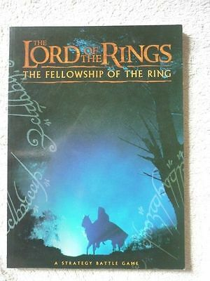 Lord of the Rings: The Fellowship of the Ring Strategy Battle game book