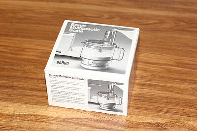 Braun Multipractic Kitchen Baking Scale UKW1 - Vintage - New - Mint