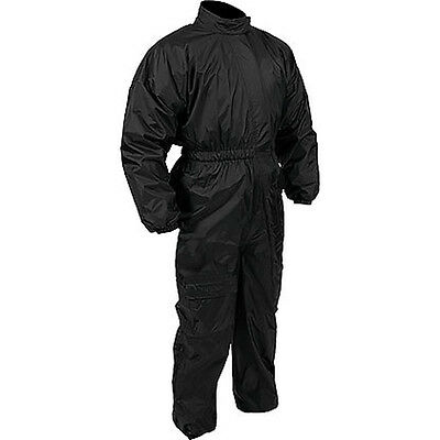 Weise Tempest Black Motorcycle Motorbike One Piece Nylon Rain Suit All Sizes