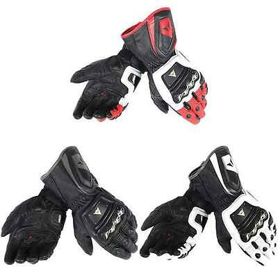 Dainese 4 Stroke Motorcycle Motorbike Sports Long Gloves All Colours & Sizes