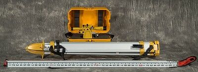 GEOTOP GT4 Builders Transit Level with Case, Tripod & Measuring Stick