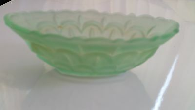 Glass bowl green ware