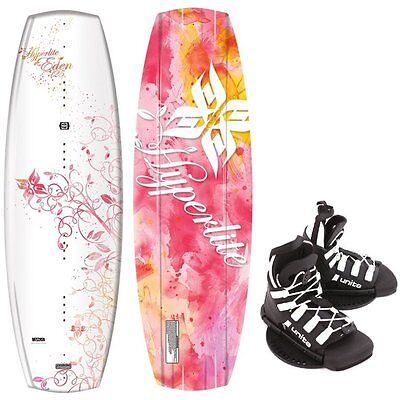 HYPERLITE EDEN Enfants Wakeboard 125cm Junior Set-Wakeboard Fixation