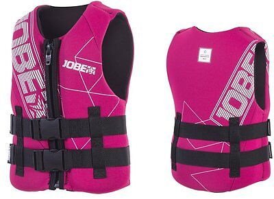 JOBE Progress Neo Vest Children's Life Jacket Neoprene Vest pink