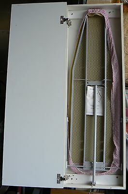 Ironing Board in Wall Mounted cuboard