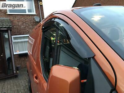 To Fit 2013 - 2018 Ford Transit Tourneo Custom Window Wind Rain Deflectors