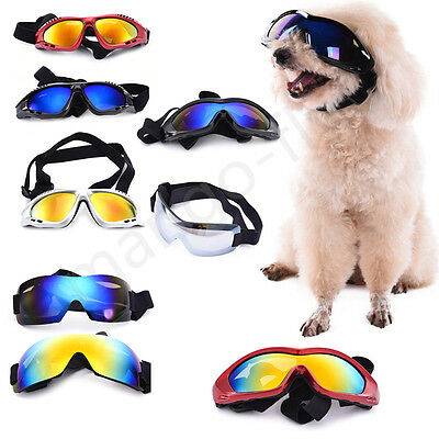 Pet Goggles Anti-UV Sunglasses Glasses Eye Wear Protection For Large/Middle Dog