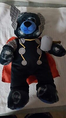 Build a Bear Thor and Outfit