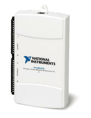 National Instruments NI USB-6210 data acquisition card