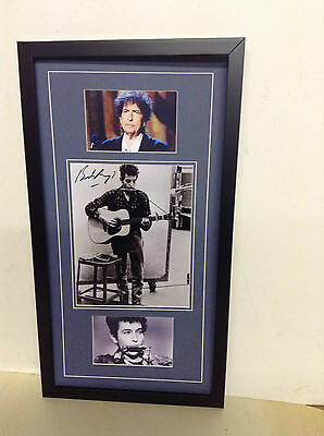 Bob Dylan Hand Signed/Autographed Photograph with COA