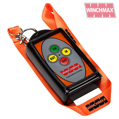 WINCHMAX WINCH REMOTE WIRELESS HANDSET 12 VOLT or 24 VOLT ~BRAND NEW DESIGN~