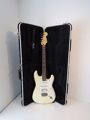 1999 Fender HSS Stratocaster American Traditional Electric Guitar  Olympic White