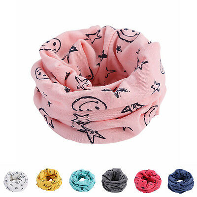 1PC Kids Boy Girl Graffiti Neck Tube Warmer Bandanas Scarf Scarves Sportswear