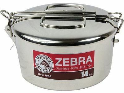 Zebra Lunch Pot - 14cm